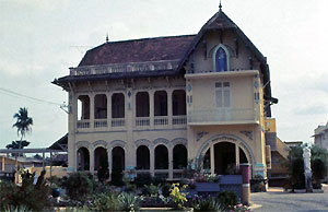 Convent in Vinh Long Home of the Worriers of God