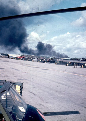 Red Knight Flight Line the Fall 1969
