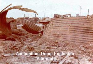Ammunition Dump Explosion, Aftermath