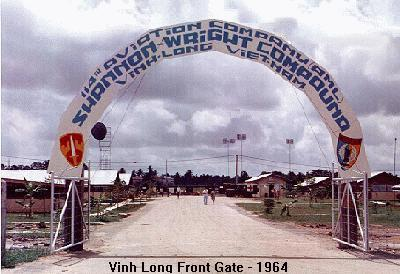 Photo, Vinh Long Front Gate 1964